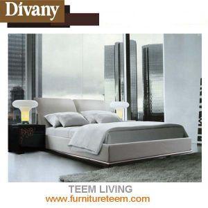 Divanyのベッドの現代様式の贅沢で優雅なベッド