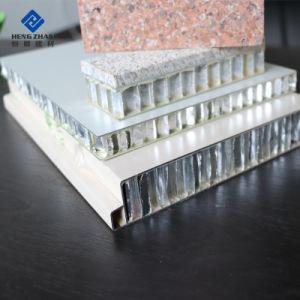 10 20 30 mm recubierto de PE de aluminio con aislamiento de Popular Panel de panal.
