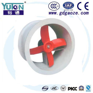 Yuton Cer-Bescheinigung-Plastikströmung-prüfender Ventilator