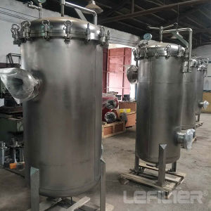 20 de Huisvesting van de Filter van de Patroon van de Hoge druk van Roestvrij staal  40