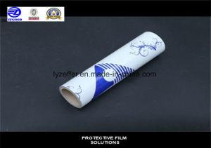 Ensemble de la vente imprimé enduit adhésif PE Film de protection de surface blue film