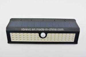 62 LED водонепроницаемые солнечного датчика движения сад настенный светильник (RS2062)
