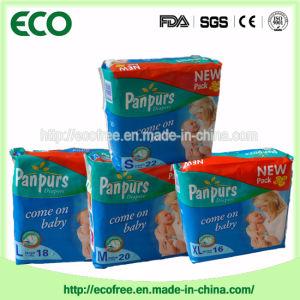Extrathin suave y transpirable de pañales desechables de OEM con grandes de la banda de cintura