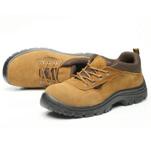 Bajo el tobillo de división de Anti Puntera de zapatos de seguridad