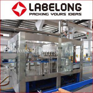 Máquina de enchimento automático de engarrafamento em linha