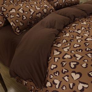 高品質のエジプトの品質のMicrofiberの羽毛布団カバーSheetset