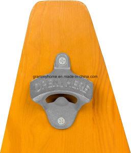 革新の6パックビールのための木の容器の戦闘状況表示板および栓抜きが付いているソーダ
