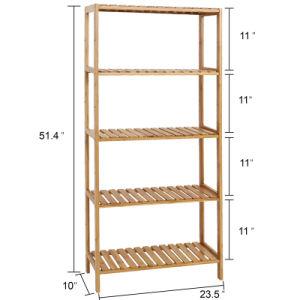 5 estantes Salón Cocina Baño multifuncional Bandeja de almacenamiento de la utilidad de