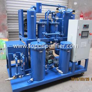 Los residuos de aceite para cocinar el filtrado y reacondicionamiento de la máquina