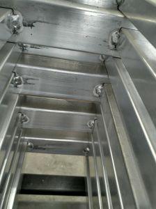 Clôture de l'aluminium à bon marché temporaire et des portes