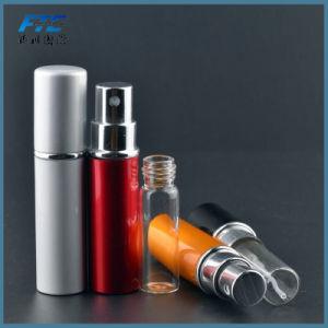 Botella de Perfume recargables de viaje de la pulverizadora vacía la botella de cristal