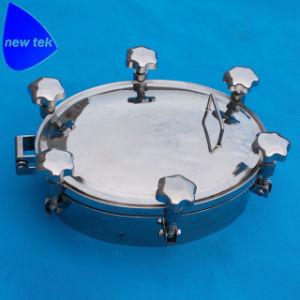 Gesundheitlicher Nicht-Druck elliptischer Becken-Einsteigeloch-Deckel mit Silikon