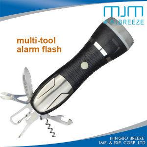 832ツールが付いている緊急の多機能アルミニウムLED懐中電燈