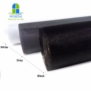 China Fornecedor Revestimento de parede de fibra de malha de fibra de vidro com alta qualidade de malha de tela da janela de insectos