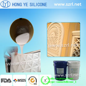 A borracha de silicone de cura de estanho líquido para fundição de cimento na China