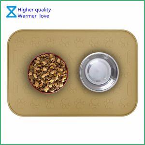 De Fabriek van China heet-Verkoopt het Voeden van het Huisdier van het Silicone van 100% Matten de Van uitstekende kwaliteit voor de Katten van de Hond met Milieuvriendelijke Materialen