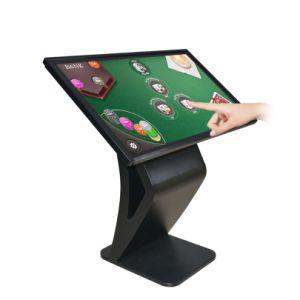 55 Signage HD van de duim de Volledige Digitale LCD Kiosk van het Scherm van de Aanraking van de Informatie van de Speler van de Reclame van het Netwerk van de Vertoning voor Gids/Onderzoek