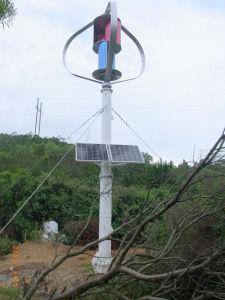 600W Generador de turbina vertical del viento para off-grid Wind-Solar System (200W-5kw).