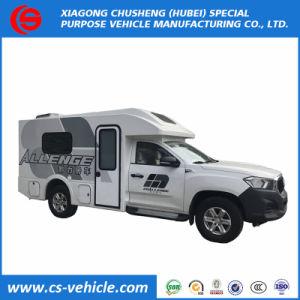 중국 호화스러운 디젤 엔진 RV 야영자 차 모터 캐라반 Motorhome