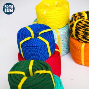 釣のための高品質のねじれ3/4の繊維のポリプロピレンPP/PE Danlineロープ