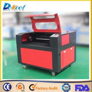grabadora láser Dek-0609 acrílico 80W láser CNC