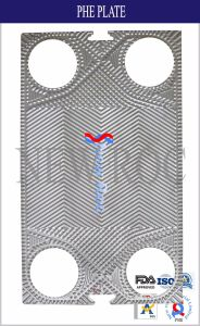 V110 FDAの証明ISO9000の証明のための熱交換器のガスケット