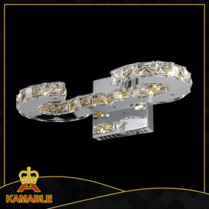 Cristal de alta calidad de las lámparas de pared de acero inoxidable (KAMB77057-10)