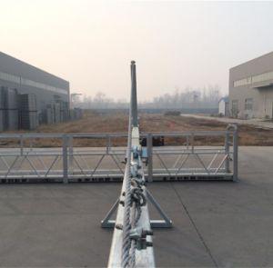 Zlp800 extremidade tipo parafuso de travamento de alumínio Powered plataforma suspensa