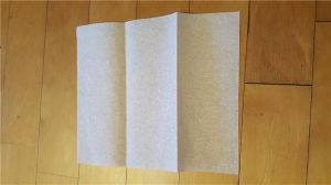5 Lane Z-Fold carpeta toallas