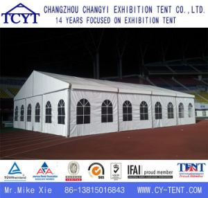 屋外の贅沢で大きい展覧会の結婚式のイベント党テント