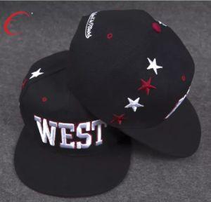 Painel 6 acrílico Snapback Cap/Hat com 3D bordados