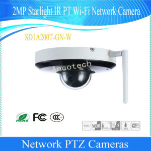 De Camera van wi-FI IP van het Sterrelicht PTZ van Dahua 2MP 3X (sd12203t-GN-w)