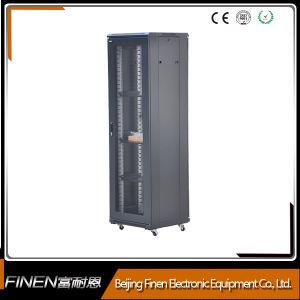 По системам SPCC статив сети для монтажа в стойку с перфорированными дверцами 42u