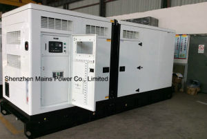 500kVA 400kw Cummins silencieux 550kVA Groupe électrogène diesel de secours