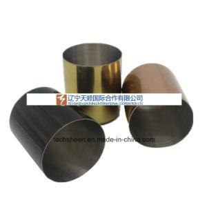 Nueva ronda de decorativos de metal bañado en cobre vacía VELA VOTIVA titulares