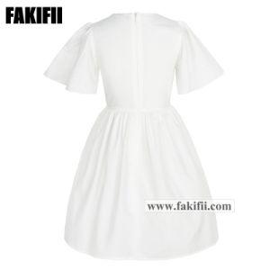 2019 Fashion Printemps/Été enfants OEM Vêtements Vêtements Kid/Fille Fille robe de fleurs