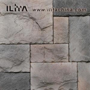Cultivés en pierre du château de panneau mural en pierre artificielle (30018)