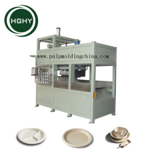 La bagasse de canne à sucre Hghy Chine pâtes Boîte à lunch Making Machine de la plaque de papier