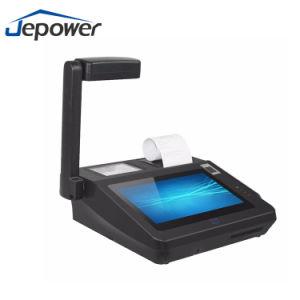 Jepower Jp762A Планшетный сканер отпечатков пальцев терминалов POS с термопринтер