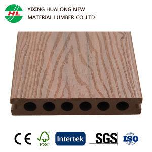 Decking compuesto plástico de madera de la coextrusión con la certificación