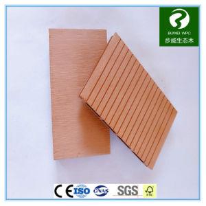 Openlucht WPC die Houten Plastic Samengestelde Decking met Ce- Certificaat in reliëf maken