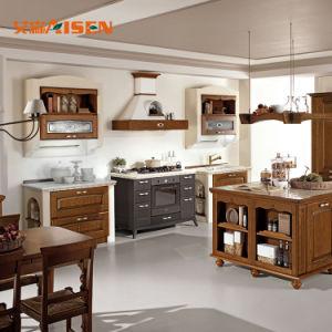 A extremidade de alta qualidade importados mobiliário de madeira sólida armário de cozinha