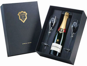 Customized Display Box for Champagne and Goblets (WB-024)