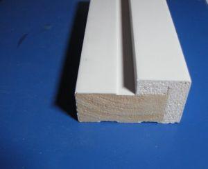 Châssis de fenêtre en bois de moulage, photo de profil de cadrage moulures en bois avec des prix bon marché