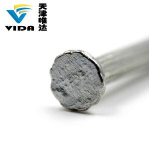 B.v. de Concrete Spijkers Stee van de Gecanneleerde Steel