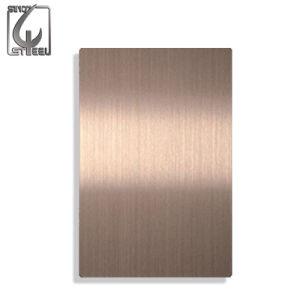 Il colore ha ricoperto 316 strati ricoperti Titatinum dell'acciaio inossidabile
