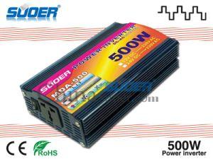 저가 (MDA-500A)를 가진 220V USB 산출 변환장치에 태양 에너지 변환장치 500W 자동 변경된 사인 파동 힘 변환장치 12V