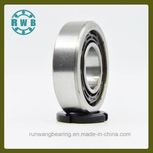Fila única de contacto angular los rodamientos para husillos de Máquinas-Herramienta de precisión, fábrica de producción (7307B)