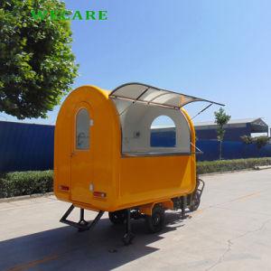 製造業者のファースト・フードはセリウムが付いている移動式食糧トレーラーをトラックで運ぶ