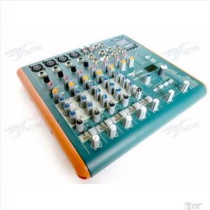 Smart-62 6canales de audio Mini mezcladora profesional DJ